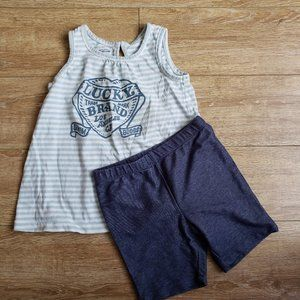 Lucky Brand Shorts and Tank Set